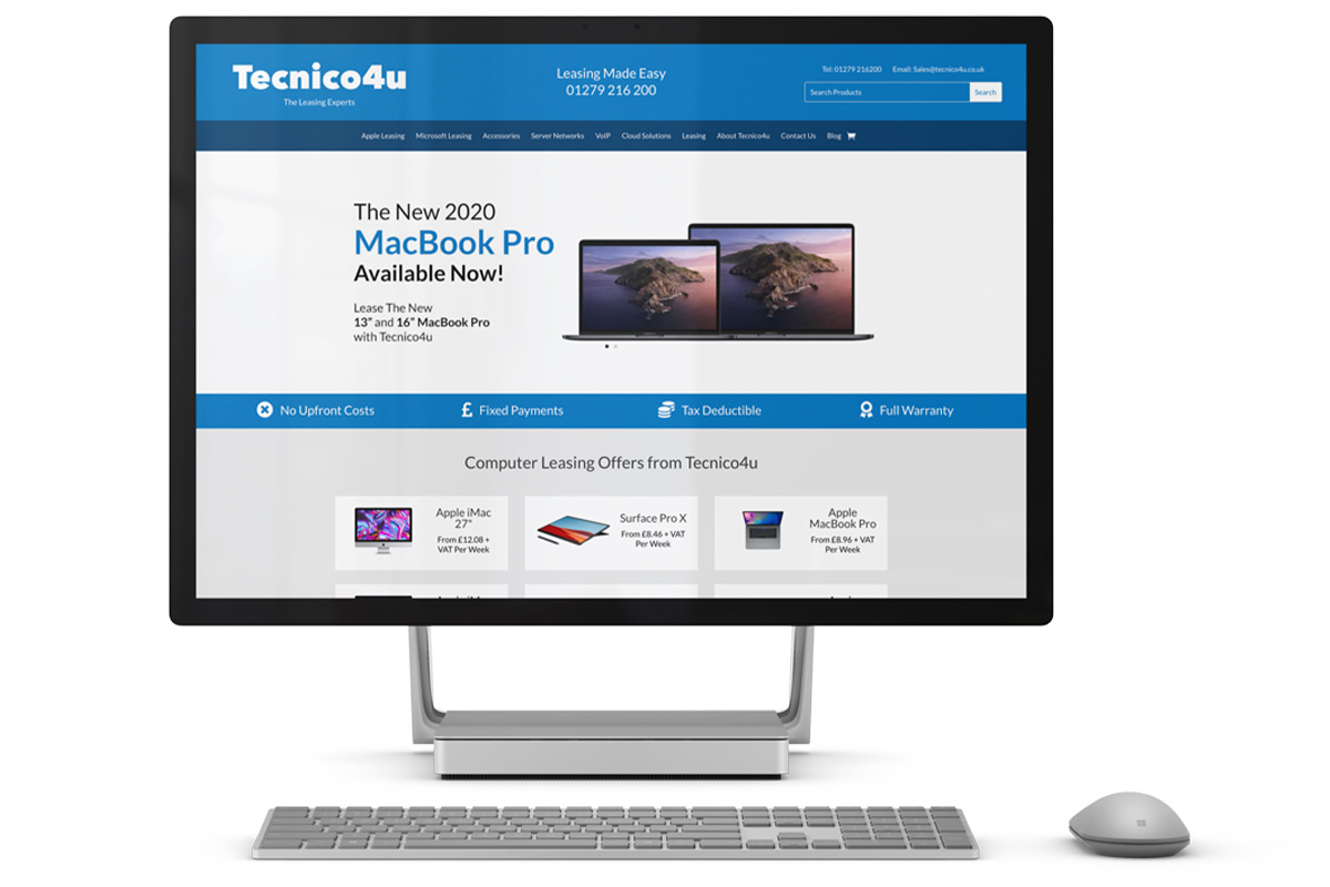 Lease the latest Microsoft Desktop with Tecnico4u