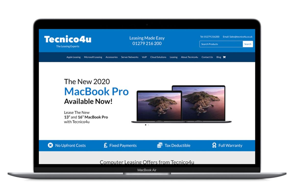 Lease the latest Apple MacBook with Tecnico4u