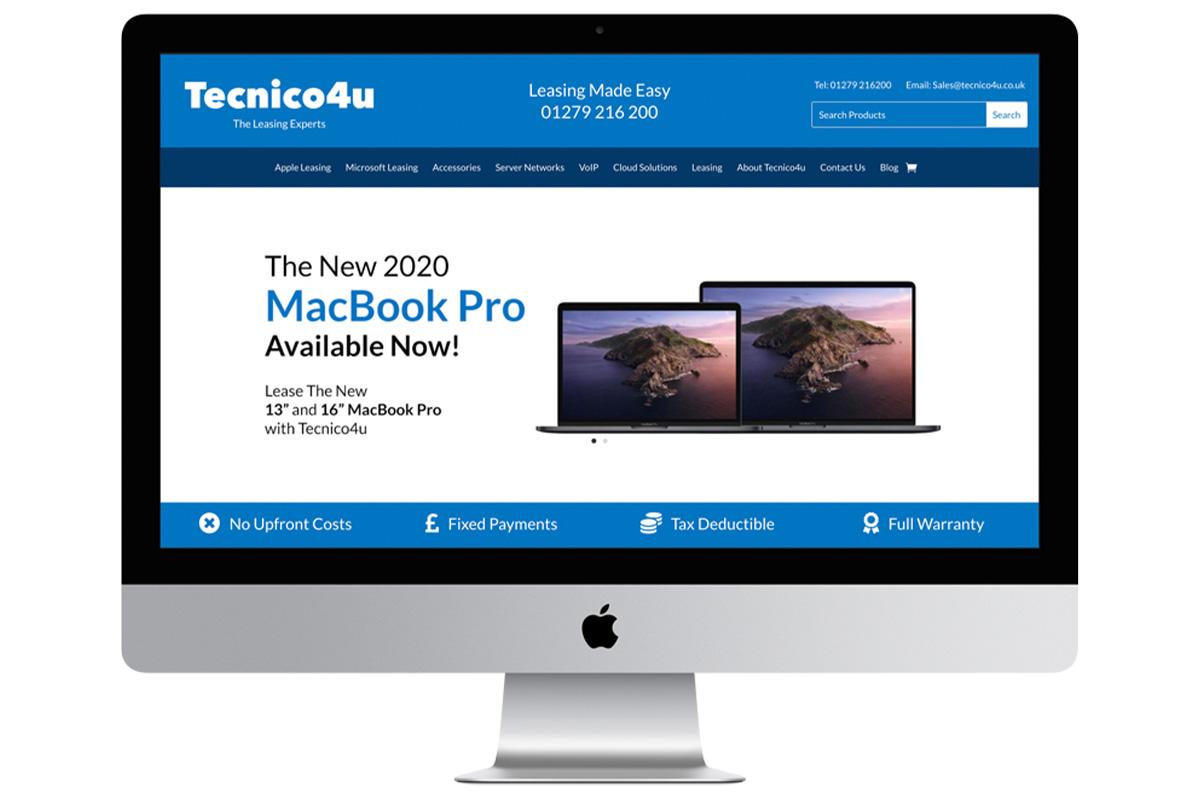 Lease the latest Apple iMac with Tecnico4u