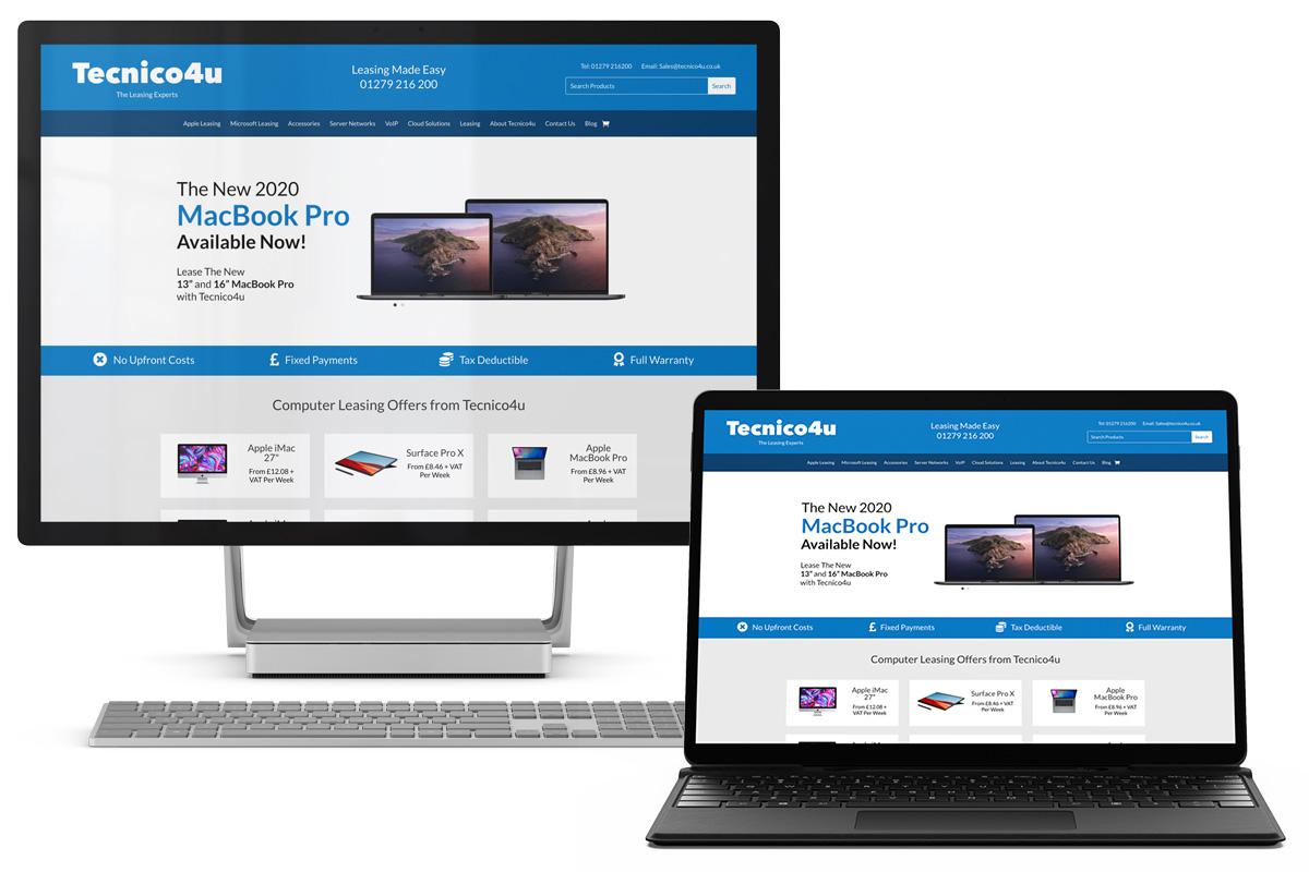 Lease the latest Microsoft PC with Tecnico4u