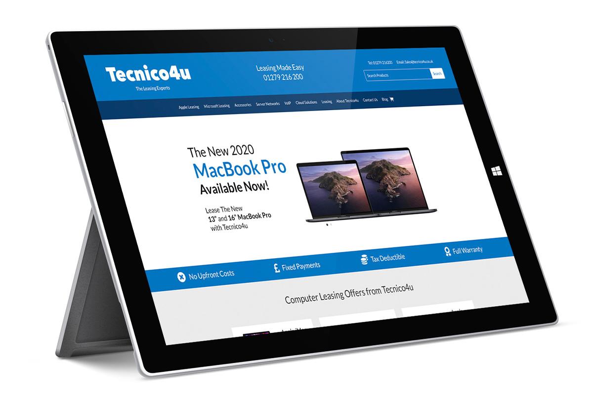Lease the latest Microsoft Surface with Tecnico4u