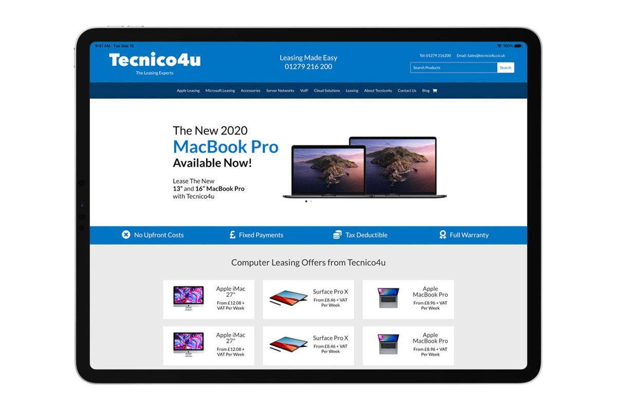 Lease the latest Apple iPad with Tecnico4u